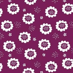Enchanted Floral - Purple