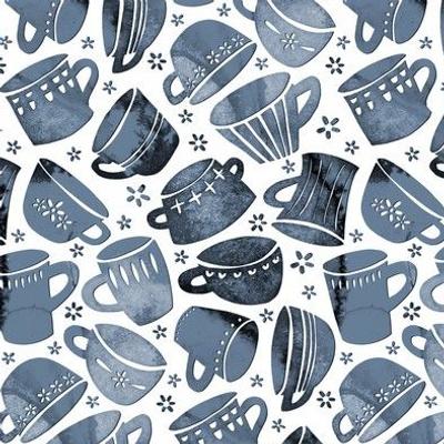 Paper Cut Mugs