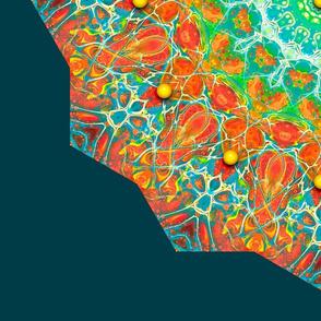 Paint Pour Kaleidoscope