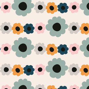 Daisy Garland - pastel