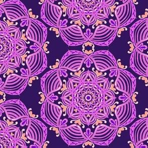 Purple Tiles 4