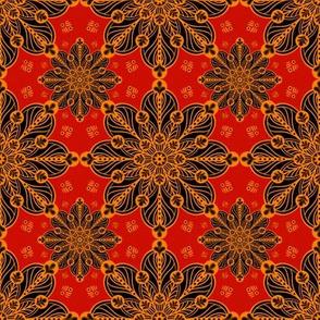 Rounded Tile Medallion 2