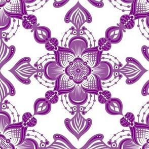 Purple Tiles 2