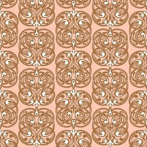 Peachy Colored Tiles