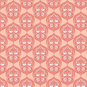 Pale Salmon Tiles