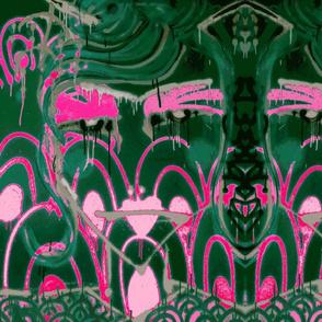 Geisha Dark Pink ivy