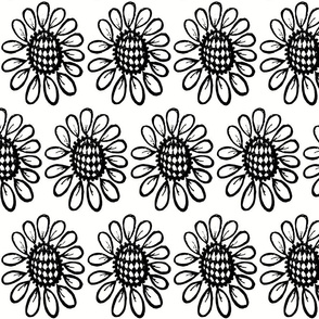 Checkerboard daisy 3