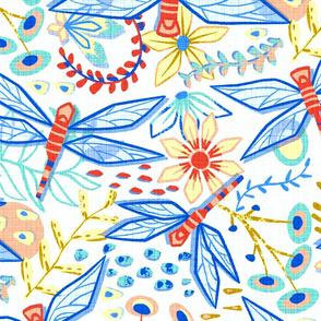 Delightful Dragonflies (Large Version)