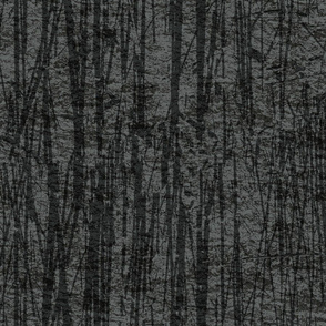 Tall Grass Texture Black