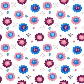 Enchanted Floral - Cherry Plum