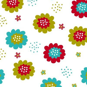 Enchanted Floral - Tutty Fruity