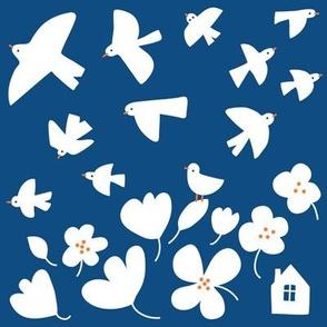 Birds papercut©Solvejg