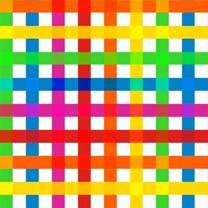 Rainbow Plaid Light