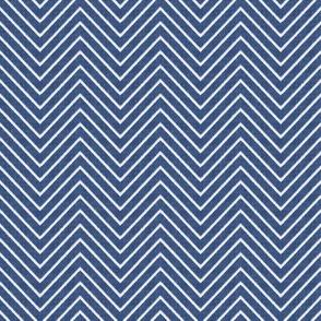 Chevron Chic - Mini - Mid Blue