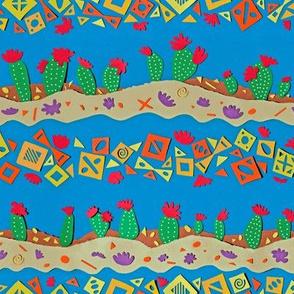 Fiesta Cactus Flower
