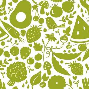 Summer Picnic Avocado