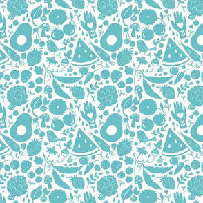 Summer picnic Turquoise