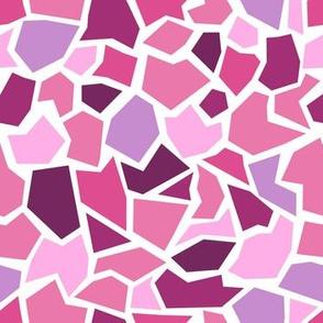 Mosaic - pinks