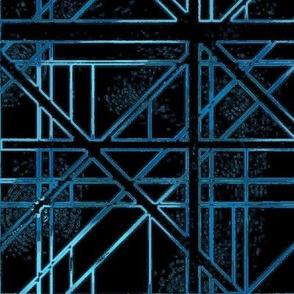 Stargate Bridge in Black and Blue