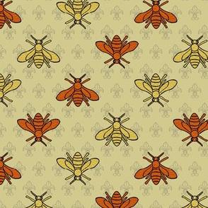 Napoleonic bees + fleur-de-lis by Su_G_©SuSchaefer
