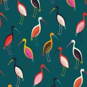 Papercut Ibis