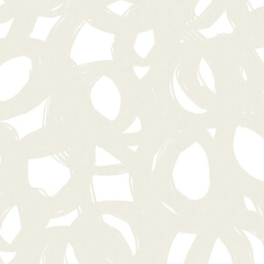 palest taupe/beige scribble-abstract