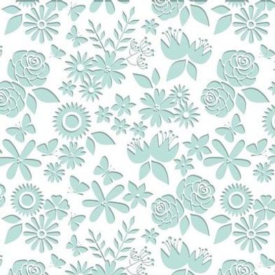 Floral Paper Cut