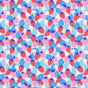 papercut strawberries/small