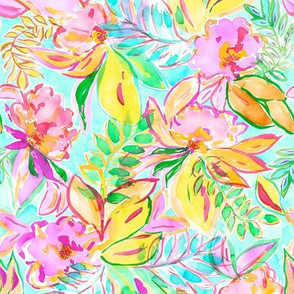 PLAYFUL & COLORFUL FLORAL