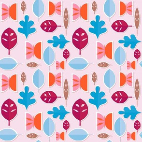 Nature Papercut pink
