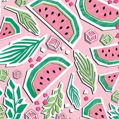 Watermelon Summer Cut Paper