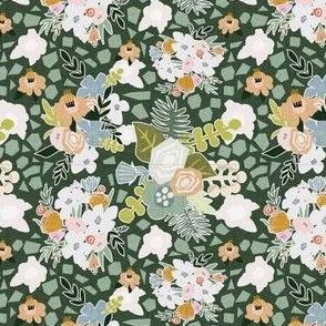Papercut Flowers_Teal