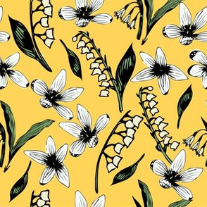 Lily of the Valley Yellow