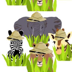 Safari_Animals_White- Large