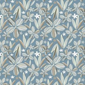 cut paper floral