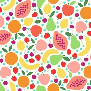 paper cut fruit salad medium scale by Pippa Shaw