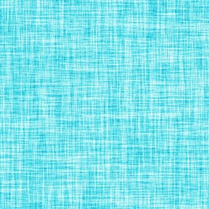 turquoise blue linen