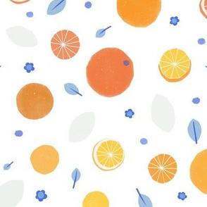 Small Papercut Citrus M+M Yellows by Friztin