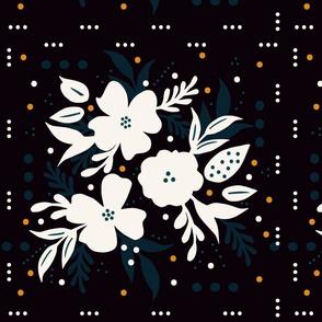 Papercut Floral Square