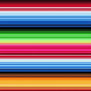 colorful serape stripes