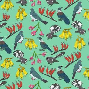 Papercut New Zealand Birds