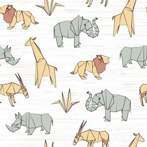 Origami Safari (Large scale)