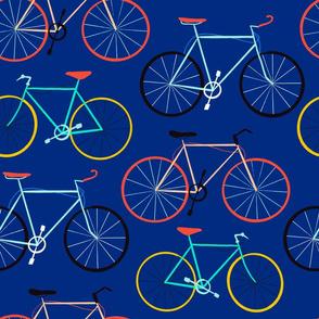 Bicycles Dark Blue