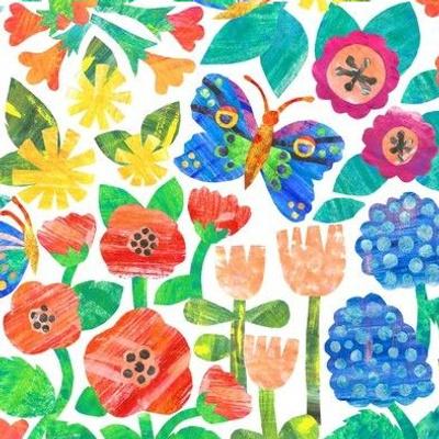 Gouache Paper Garden