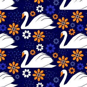 Papercut Swan