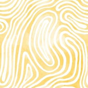 Tribal Body Paint / Yellow
