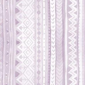 Tribal stripes / Lilac