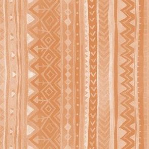 Tribal stripes / Peach