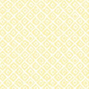 woven Diamonds - yellow