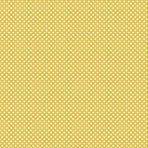 Weeds & Wildflowers: Gold & Cream Polka Dot
